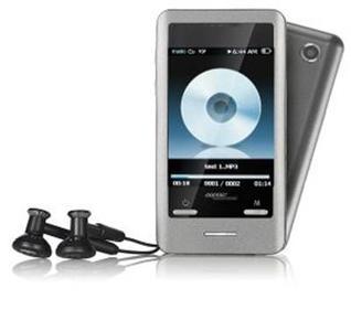 auvisio Touchscreen-MP3- & Video-Player mit Kamera DMP-640.touch