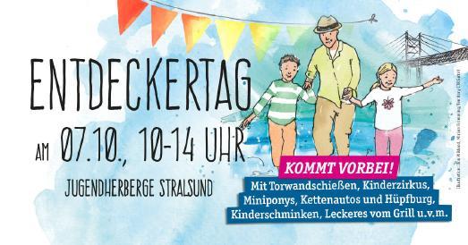 Entdeckertag in der Jugendherberge Stralsund, Illustration: Ilon Wikland, Miriam Frömming/Territory CTR GmbH
