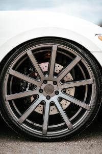 Cor.Speed Sports Wheels Europe: Italian open-air sportsman Maserati GranCabrio on large Deville rims