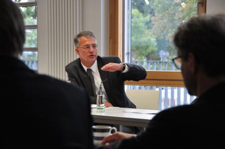 Staatssekretär Adler / Foto: FHL