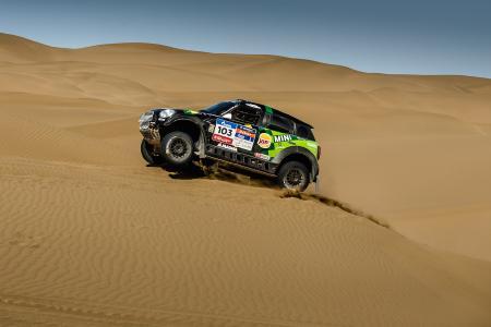 2016 Silk Way Rally - Leg 9 Urumqi-Hami - Yazeed Al Rajhi (KSA), Timo Gottschalk (GER), MINI ALL4 Racing 103 - X-raid Team - 18.07.2016