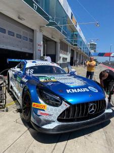 "The ""KNAUS Raptor"" is piloted by Philip Ellis and Raffaele Marciello / Photo: HTP-WINWARD Motorsport"