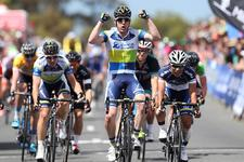 Matt Goss Wins Stage Two of Mitchelton Bay Cycling Classic