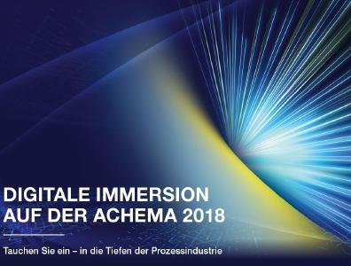 Grafik: hl-studios, Erlangen - Kommunikation der Digitalisierung auf der ACHEMA 2018