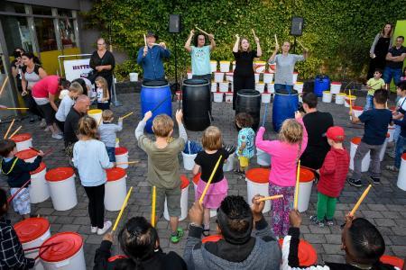 Music Day in Kernie´s Familienpark - Trommelworkshop