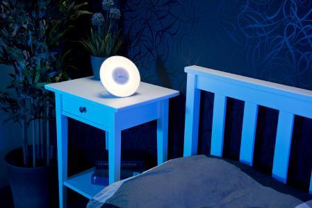 viel mehr als ein gadget led licht wecker nicht nur f r die dunkle jahreszeit pearl gmbh. Black Bedroom Furniture Sets. Home Design Ideas