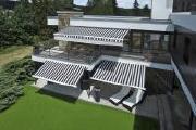 Markisen sind elegante Schattenspender und verschönern den Urlaub auf Balkonien oder Terrassien