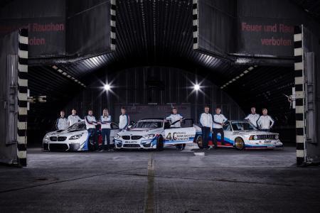 Fotoshooting, BMW Motorsport Nachwuchsförderung, Gruppenbild