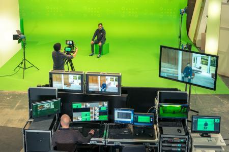 Das Hybrid Studio von hl-studios eröffnet neue Möglichkeiten für die Film- und Fotoproduktion (Foto: hl-studios, Erlangen)