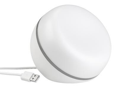 NX-4524 Luminea Home Control WLAN-LED-Stimmungsleuchte. WLAN Amazon Alexa und Google Assistant kompatibel 5 Watt. 200 Lumen / Copyright: PEARL.GmbH / www.pearl.de