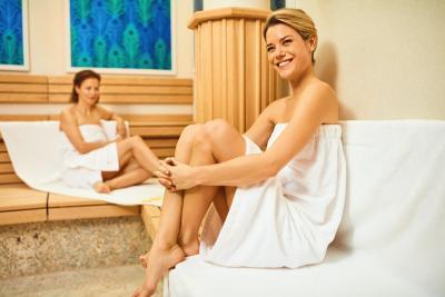Sauna Diamenten-Traum in VENUS SKY LOUNGE