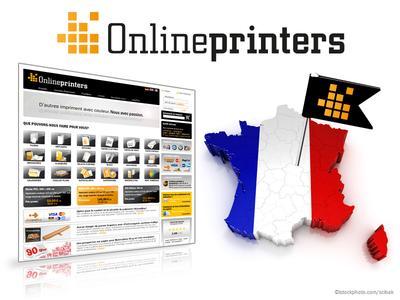 Französischer Webshop: onlineprinters.fr