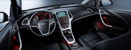 Der Astra führt die vom Insignia eingeführte neue Opel Designsprach fort. Jetzt wurde er mit dem begehrten red dot design award ausgezeichnet