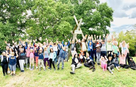 Die kleinen Feriengäste genießen die Zeit am Beetzsee in Brandenburg