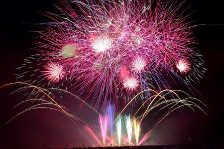 Zena Trophy Feuerwerk