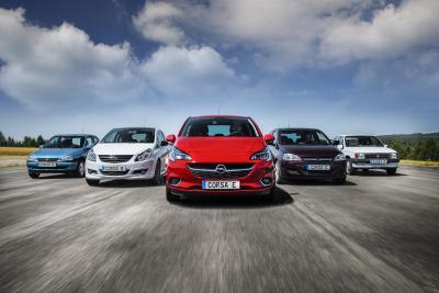 Bestseller: Der Opel Corsa kommt seit 1982 in mittlerweile fünf Generationen aus Saragossa