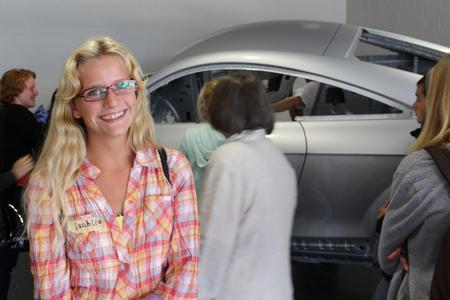 Isabelle Liekam kann sich gut vorstellen, später ein technisches Studium zu wählen