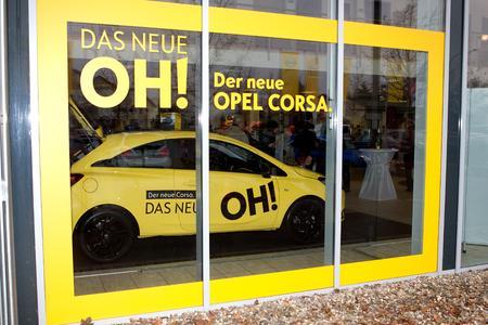 Das neue OH!: Der neue Corsa mit Innovationen der Oberklasse stand erstmals in den Ausstellungsräumen der Händler, © GM Company