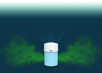 Luftreiniger von IDEAL ermöglichen eine dauerhaft sichere Luftqualität: Die hochwirksamen mehrlagigen Filter entfernen 99 % aller Partikel bis 0,2 Mikrometer aus der Raumluft. Sie filtern Bakterien und Viren und reduzieren ihre Konzentration deutlich, zusätzlich entfernen sie Allergene, Pollen, Feinstaub und Chemikalien sowie unangenehme Gerüche.