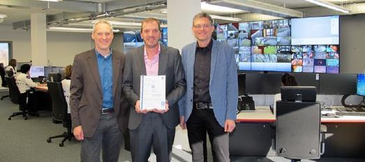 TÜV SÜD zertifiziert Alarmempfangsstelle von SOS Surveillance SA in ...