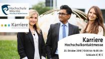 """12. Hochschulkontaktmesse """"Karriere"""" brilliert mit Ausstellervielfalt / Foto/Hochschule Worms"""