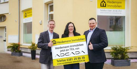 Weidemann Immobilien jetzt ein Teil der adcada GmbH