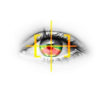 Zukunft des situationsgerechten Lichts: Die Opel-Ingenieure arbeiten schon heute an der Eye-Tracking-Technologie. Der Fahrer kann dann mittels Blickrichtung den Scheinwerferstrahl lenken