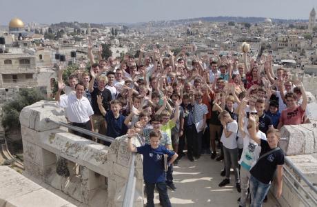 Die Regensburger Domspatzen besuchten Israel / Foto: obx-news/Michael Vogl