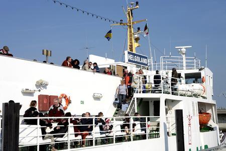 MS Helgoland fit für den Helgolandverkehr