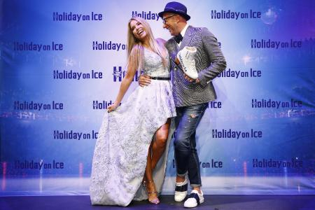 HOLIDAY ON ICE mit Sylvie Meis und Thomas Rath