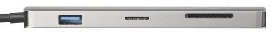HZ 2799 02 Callstel USB Hub DeX Smartphone PC Adapter 3xUSB