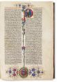 الكتاب المقدس باللاتينية – نسخة فوست شوفر / مجلدان 2, 14 أغسطس 1462 مـ / الثمن المقدر: € 1.000.000
