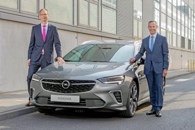 Start of Production: New Opel Insignia Drives off Rüsselsheim Production Line