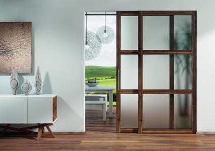 Gran Lux® Glasschiebetür  / Foto: Rubner Türen