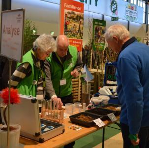 Berliner Gartenfreunde auf der Internationalen Grünen Woche 2019