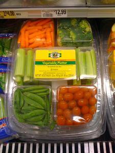 Mit den neuen Verpackungsmöglichkeiten bleibt das Gemüse frisch und knackig.