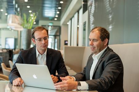 Dirk Hetzer, Hotel Manager des Légère Hotel Tuttlingen und  Kai-Uwe Leiber der Geschäftsführer von Leiber Gastro-Concept