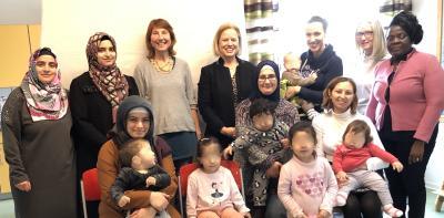 Sprachförderung bei mehrsprachigen Kindern Thema im Haus der Familie Tenever