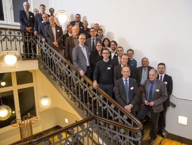 Teilnehmerinnen und Teilnehmer der Gründungsveranstaltung in der KME-Academy