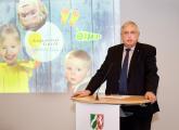 Minister Karl-Josef Laumann beim Grußwort