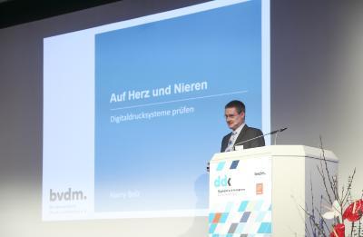 Harry Belz, Bundesverband Druck und Medien e.V.