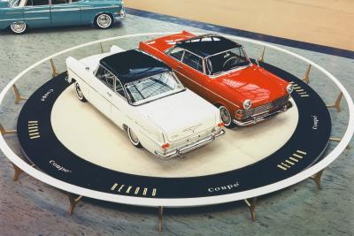 1961 Opel Rekord Coupe IAA Frankfurt