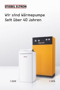 """Eine Million Wärmepumpen sind mittlerweile in Deutschland installiert – und STIEBEL ELTRON hat daran einen gehörigen Anteil. Die aktuelle Kampagne des Unternehmens bringt es auf den Punkt: """"Wir sind Wärmepumpe – seit über 40 Jahren."""""""