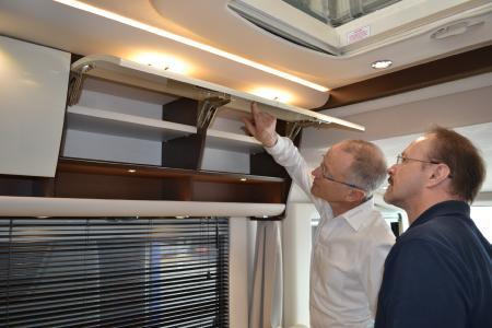 Bei Concorde gilt das 4 Augen Prinzip bei der Qualitätsprüfung (Foto: Concorde Reisemobile)