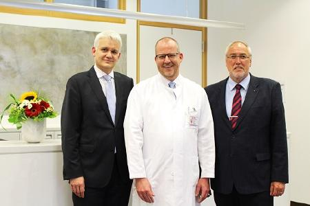 Dr. Michael Klein ist neuer Direktor der Klinik für Orthopädie und Unfallchirurgie, spezielle Unfallchirurgie am Klinikum Lüdenscheid