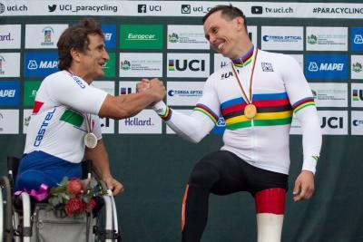 Alessandro Zanardi, Tim de Vries, UCI Para-Cycling Road World Championships, Pietermaritzburg