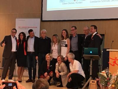 Glückliche Gesichter beim BEMER Weltsporttag in Frankfurt am Main, Fotoquelle: Katja Hofmann