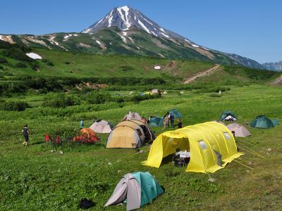 Kamtschatka Wanderreise mit Zeltübernachtungen