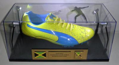 Original Laufschuh von Usain Bolt (Spiele in Rio)