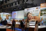 """Auf der """"interbad"""" in Stuttgart feierten die neuen Whirlpools und Swim-Spas aus Deißlingen-Lauffen ihre Premiere."""